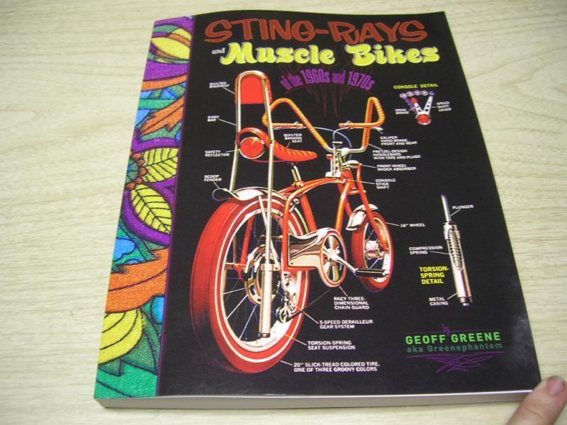 schwinn stingray muscle bike book