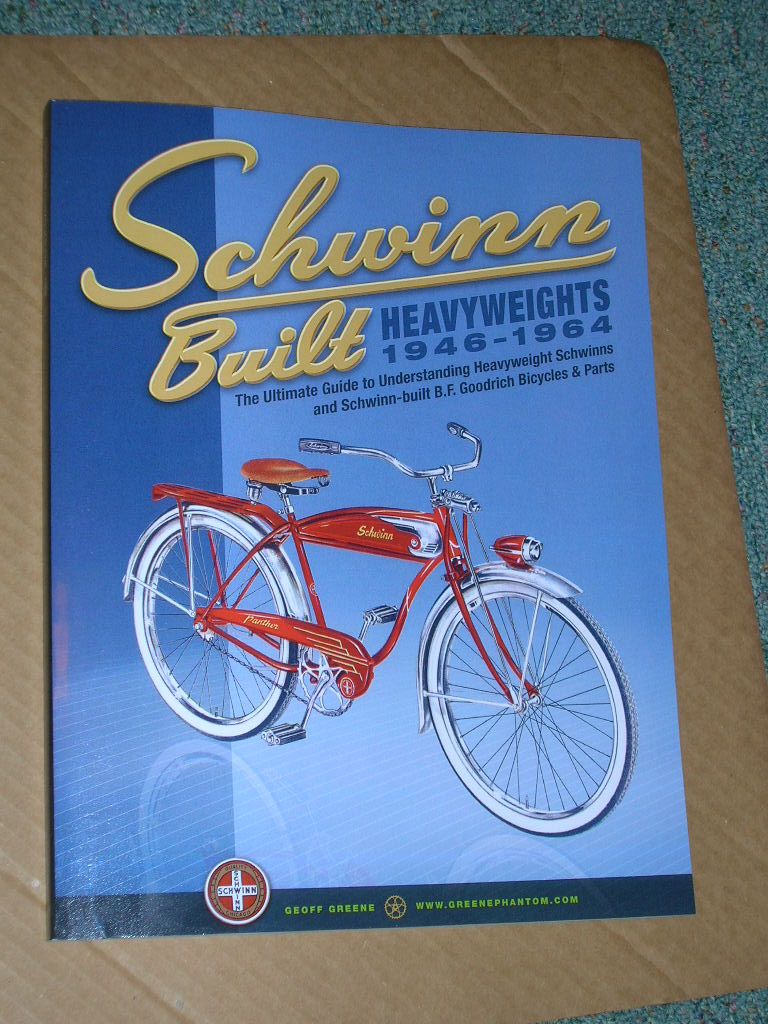 Schwinn Heavyweight Book, Panther Phantom Autocycle Leader B.F. Goodrich