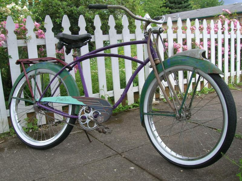 "Schwinn American Kingsize.  The ""Rat King""."